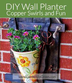 DIY Wall Planter Project