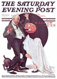 Halloween (Norman Rockwell, October 23, 1920)                                                                                                                                                                                 More
