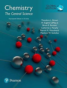 Chemistry: The Central Science Global Edition in SI Units, Theodore L. Chemistry Book Pdf, Chemistry Textbook, Student Data, Student Success, Problem Set, Us School, Second Semester, Student Engagement, Science