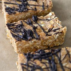 Treat yourself post-workout to one of these chocolate peanut butter protein bars. Bonus: This good-for-you recipe takes just 30 minutes flat!