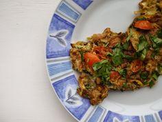 {masala omelette} This Muslim Girl Bakes: Sunday Baking + Eton Mess + Peanut Butter Cookies: 21 February - 27 February 2015