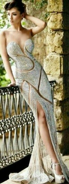 Elegant Long Dress.