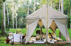 3 of the Most Luxurious Places for Glamping in Bali