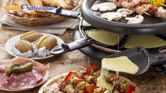 Raclette...asking Santa for one of this grill's
