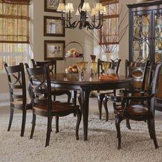 Hooker Furniture Preston Ridge Round Dining Table