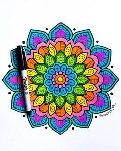 Abstract Mandala Coloring Page For Adults – Coloring Mandalas Mandala Mural, Mandala Doodle, Mandala Art Lesson, Mandala Artwork, Mandala Painting, Doodle Art Drawing, Zentangle Drawings, Mandala Drawing, Art Drawings