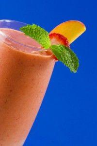 Fat Flush Recipe: Strawberry-Peach
