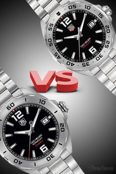 77dcccb8360 Deciding between TAG Heuer Formula 1 Quartz or Automatic  There are 7  noticeable differences and
