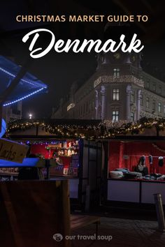 Denmark is a magical place around the holidays. There are many christmas markets around Europe in November and December, and Copenhagen is a lovely place to be around this time. Explore this guide to all the holiday markets there, and a few outside the city as well.
