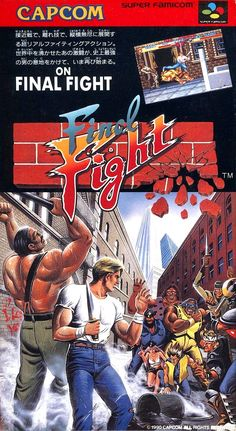 Released today (10 December) in 1992: Final Fight for the Super Nintendo Entertainment System