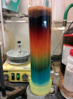 rainbow column