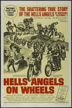 Hells Angels On Wheels, by Richard Rush, 1967: http://www.youtube.com/watch?v=0v4ZBx7HAqI