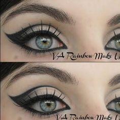Fabulous Black 60s Eyeliner Make-up Ideas by kendra