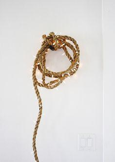 rope light DIY by AMM blog