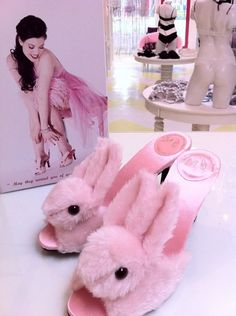 Fashion Friday...Pink Bunny Slippers! | Simply Natural Events