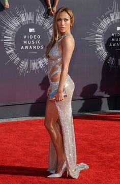 Jennifer Lopez Photos: Arrivals at the MTV Video Music Awards