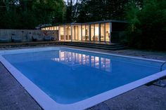 In Chestnut Hill, Massachusetts: a renovation of an art studio/pool house into a 2 bedroom by Hammer Architects
