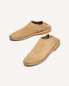 JOIN LIFE FLAT LEATHER SHOES-Flats-SHOES-WOMAN   ZARA United States