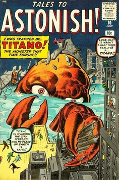 Tales To Astonish #10 Jack Kirby / Steve Ditko Cover BOUGHT reprint