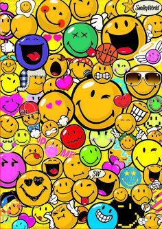 """Puzzle EDUCA """"Smiley World"""", 500 piezas."""