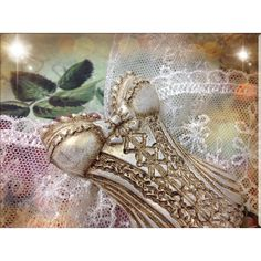 Vintage Christmas decorations,Christmas ornament,Set of 3,tree... ($35) ❤ liked on Polyvore featuring home, home decor and holiday decorations