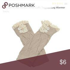 New in package- leg warmer socks Girls leg warmer socks, new in package Accessories