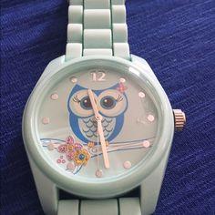 Cute owl watch. Cute owl watch. Never worn. Unknown Jewelry