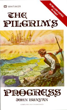 Pilgrim's Progress, as a young child, I watched this movie and thus my faith journey began with the story from an OLD book!  I knew like Pilgrim, I had a heavy burden, and I learned that Jesus Christ could take that burden of sin from me.