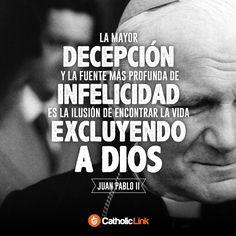 Biblioteca de Catholic-Link - La decepción más grande San Juan Pablo II