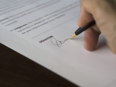 Free stock photo of agreement blur business