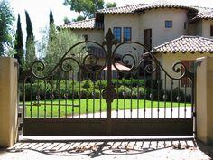 wrought iron gate design catalogue - Google Search