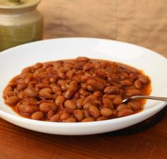 Mom's Baked Beans #MeatlessMonday