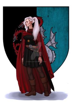 Commission: Visenya Targaryen by Enife.deviantart.com on @DeviantArt