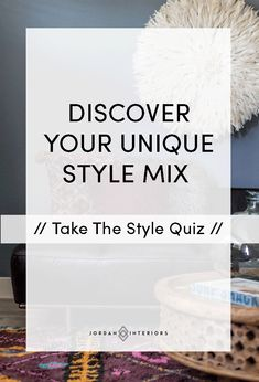 Have You Ever Wondered What Sort Of Home Décor Style Might Suit You Best?  Take This Fun Quiz To Find Out! Https://thehomedesignschool.leadpages.cu2026