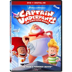 Captain Underpants: The First Epic Movie         -- Click on the image for additional details. (This is an affiliate link) #MoviesTV