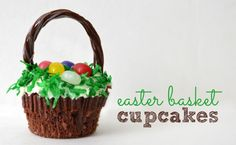 Hi friends! Now that we've made it past St. Patrick's Day, I think we can focus our full attention on Easter crafts and recipes – and we have a great one for you today – Easter Basket Cupcakes! These are again straight from Grandma's Kitchen. My mother is probably the best baker that I know, …