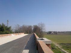 Ostiglia-Treviso Pista ciclo-pedonale ponte su via Verdi, Piazzola sul Brenta