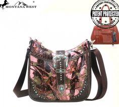 Pink Concealed Handgun Camo Handbag