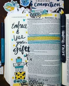 #if_cravingconnection - connecting with community more intentionally- 1 Corinthians 12:21-26 Gifts of value. #illustratedfaith #illustratedfaithcommunity #bellablvd #dayspring #incourage #biblejournaling #biblejournalingcommunity #ipaintinmybible #documentedfaith