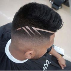 """New """"boy hairstyles images"""" Trending Boy Amazing hairstyle pic collection 2019 Haircut Designs For Men, Hair Designs For Boys, Boys Haircut Styles, Haircut Men, Hair And Beard Styles, Curly Hair Styles, Shaved Hair Designs, Faded Hair, Hair Tattoos"""