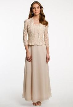Beaded Lace Dress wi