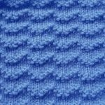 Halfknits Charity Knitting and Crochet Group - Knitted Block Patterns - Reverse Stockinette Chevron Knitted Squares Pattern, Knitting Squares, Double Knitting, Knitting Stitches, Knitting Patterns, Spool Knitting, Block Patterns, Pattern Blocks, Stitch Patterns