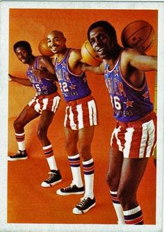 The Harlem Globetrotters Doing Their Thing!