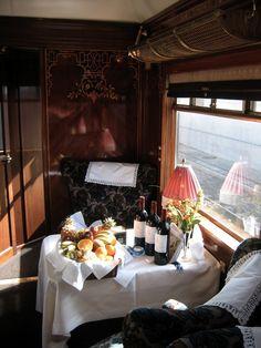 * Atmosphère Demeure Ƹ̵̡Ӝ̵̨̄Ʒ Le Blog: Et si on prenait le Train... Déco Grand LuxE !