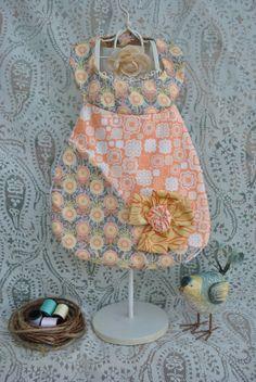 Lovely bib fabric!