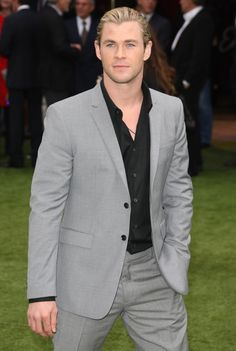 Chris Hemsworth, Snow White and the Huntsmen premiere
