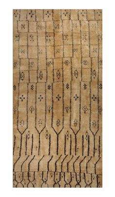 VINTAGE MOROCCAN The Ebanista Rug Collection incorporates a wide assortment of qualities and textures, in designs that span the centuries from timeless traditional to the transitional and modern // Ebanista