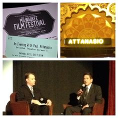 "Click here for a review of Saturday's ""An Evening with Paul Attanasio"" at the Milwaukee Film Festival. #MFF2013 #Brewers"