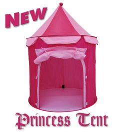 NEW FAIRY PRINCESS CASTLE POP UP TENT PLAY HOUSE CHILD GIRLS - ROSE / PINK |  sc 1 st  Pinterest & Outdoor Fairy Houses For Sale | castle pop up tent play house ...