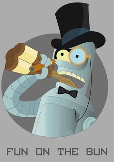 Bender - Fun On The Bun, Futurama